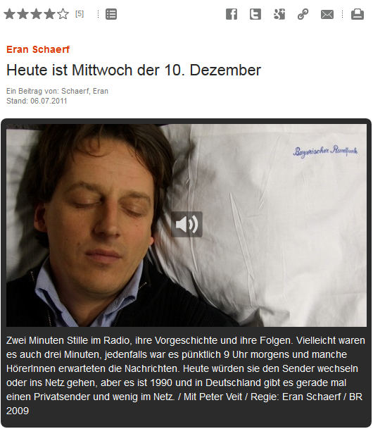 BR Hörspiepool Eran Schaerf