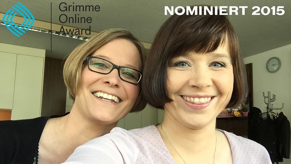 GOA Katharina und ich nominiert